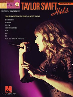 Pro Vocal Women's Edition Volume 61: Taylor Swift Books and CDs | Voice