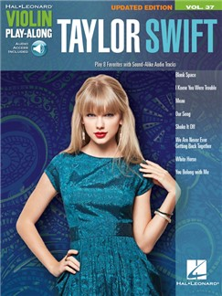 Violin Play-Along Volume 37: Taylor Swift (Book/Online Audio) Books and Digital Audio | Violin