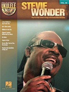 Ukulele Play-Along Volume 28: Stevie Wonder Books and CDs | Ukulele