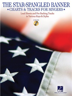 The Star-Spangled Banner: Charts And Tracks For Singers Books | Piano, Acoustic Guitar, String Quartet, Ensemble