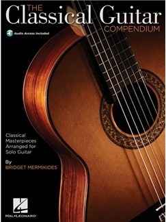 The Classical Guitar Compendium - Tablature Edition (Book/Online Audio) Books and Digital Audio | Classical Guitar