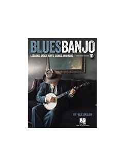 Fred Sokolow: Blues Banjo Lessons - Licks, Riffs, Songs & More (Book/Online Audio) Books and Digital Audio | Banjo