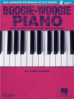Hal Leonard Keyboard Style Series: Boogie-Woogie Piano (Book/Online Audio) Books and Digital Audio | Piano, Keyboard
