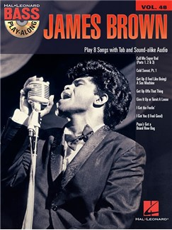 Bass Play Along Vol. 48: James Brown (Book/CD) Books and CDs | Bass Guitar Tab