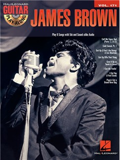 Drum Play Along Vol. 33: James Brown (Book/CD) Books and CDs | Drums
