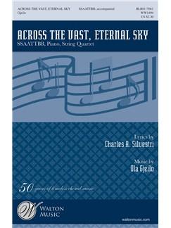 Ola Gjeilo: Across The Vast, Eternal Sky (Vocal Score) Books | SSAATTBB, Piano Accompaniment