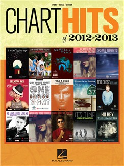 Chart Hits Of 2012-2013 Books | Piano, Vocal & Guitar