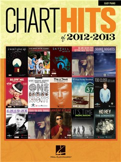 Chart Hits Of 2012-2013 Books | Piano