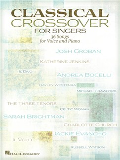 Classical Crossover For Singers Books | Piano & Vocal