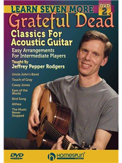 Jeffrey Pepper Rodgers: Learn Seven More Grateful Dead Classics For Acoustic Guitar DVDs / Videos | Acoustic Guitar, Guitar Tab