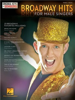 Broadway Hits: Original Keys For Male Singers Books | Piano & Vocal