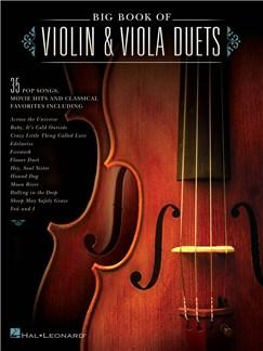 Big Book Of Violin & Viola Duets Books | Viola, Violin