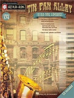Jazz Play Along: Volume 174 - Tin Pan Alley Books and CDs | All Instruments