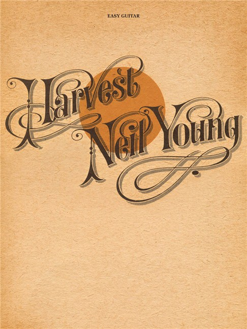 Neil Young: Harvest - Easy Guitar Tab Sheet Music - Sheet Music ...