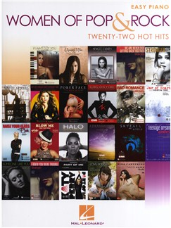 Women Of Pop And Rock: Easy Piano - 22 Hot Hits Books | Easy Piano