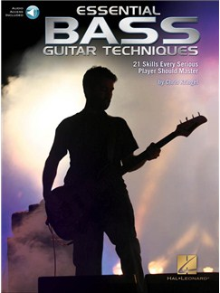 Chris Kringel: Essential Bass Guitar Techniques: 21 Skills Every Serious Player Should Master (Book/Online Audio) Books and Digital Audio | Bass Guitar