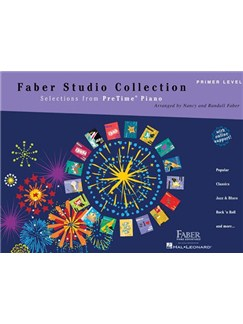 Faber Studio Collection: Selections From PreTime® Piano -  Primer Level Livre | Piano, Clavier
