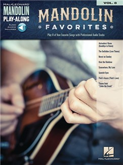 Mandolin Play-Along Volume 8: Mandolin Favorites Books and Digital Audio | <p>Mandolin<, p>
