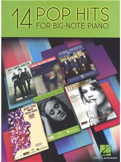 14 Pop Hits For Big Note Piano Books | Piano