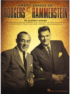 Great Songs Of Rodgers & Hammerstein (Big-Note Piano) Books | Piano