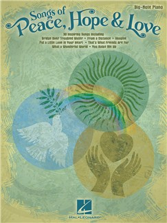 Songs Of Peace, Hope And Love Books | Piano, Keyboard