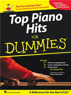 Top Piano Hits For Dummies Books | Piano, Vocal & Guitar