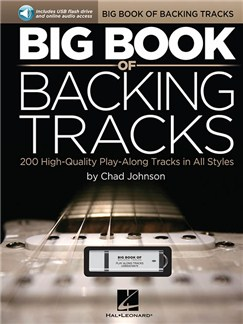 Big Book Of Backing Tracks - 200 High-Quality Play-Along Tracks In All Styles (Book/USB) Books and Digital Audio | Guitar
