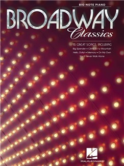 Broadway Classics Books | Piano