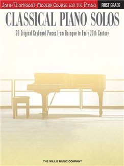 John Thompson's Modern Course: Classical Piano Solos - First Grade Books | Piano