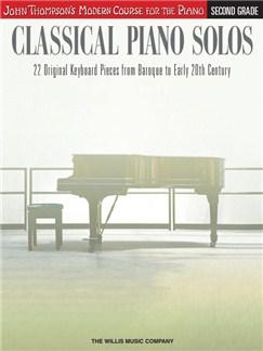 John Thompson's Modern Course: Classical Piano Solos - Second Grade Books | Piano
