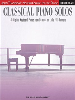 John Thompson's Modern Course: Classical Piano Solos - Fourth Grade Books | Piano