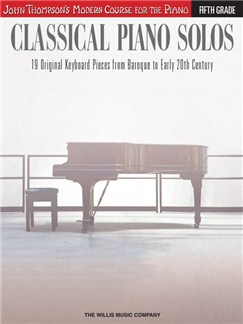 John Thompson's Modern Course: Classical Piano Solos - Fifth Grade Books | Piano