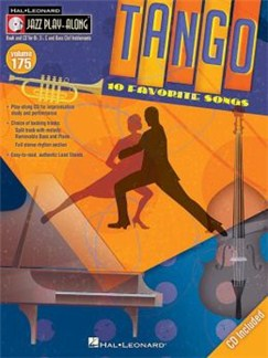 Jazz Play-Along Volume 175: Tango Books and CDs | B Flat Instruments, E Flat Instruments, Bass Clef Instruments, C Instruments