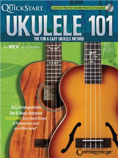 Kev in Rones: Ukulele 101 Books and CDs | Ukulele with strumming patterns