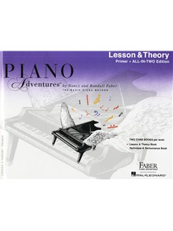 Piano Adventures: Lesson And Theory Book - Primer Level Buch | Klavier