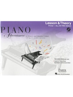 Piano Adventures: Lesson And Theory Book - Primer (Book/CD) Books and CDs | Piano