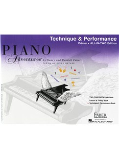 Piano Adventures: Technique And Performance Book - Primer Level Buch | Klavier