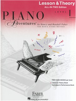 Piano Adventures: Lesson And Theory Book - Level 1 (Book Only) Books | Piano