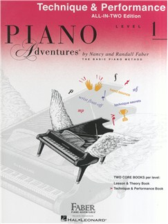 Piano Adventures: Technique And Performance Book - Level 1 Books | Piano