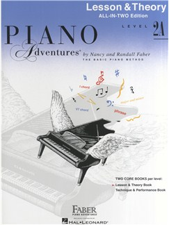 Piano Adventures: Lesson And Theory Book - Level 2A (Book Only) Books | Piano