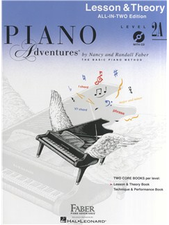 Piano Adventures: Lesson And Theory Book - Level 2A (Book/CD) Books and CDs | Piano
