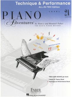 Piano Adventures: Technique And Performance Book - Level 2A Books | Piano