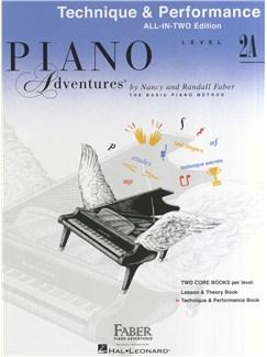 Piano Adventures: Technique And Performance Book - Level 2A Books | Piano