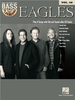 Bass Play-Along Volume 49: Eagles (Book/CD) Books and CDs | Bass Guitar