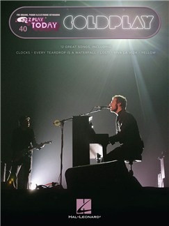 E-Z Play Today Volume 40: Coldplay Books | Organ, Piano, Keyboard