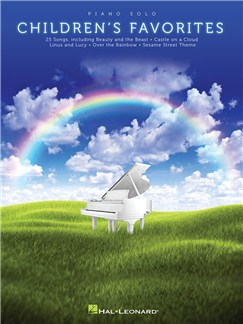 Piano Solo Children's Favorites Books | Piano