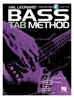 Hal Leonard Bass Tab Method Songbook 1 - Book/CD Set Books and CDs | Bass Guitar Tab