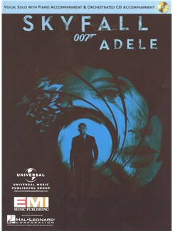Adele: Skyfall - Vocal Solo With Piano Accompaniment & Orchestrated CD Accompaniment Books and CDs | Voice, Piano Accompaniment