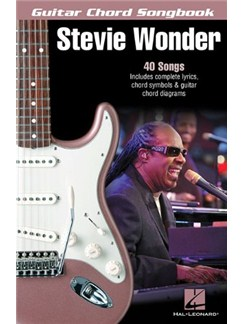 Stevie Wonder: Guitar Chord Songbook Books | Lyrics & Chords (with Chord Symbols)