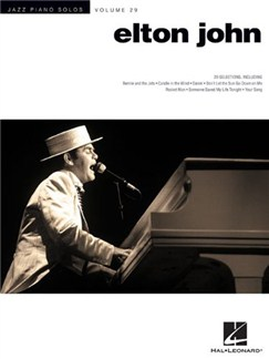 Jazz Piano Solo Series Volume 29: Elton John Books | Piano